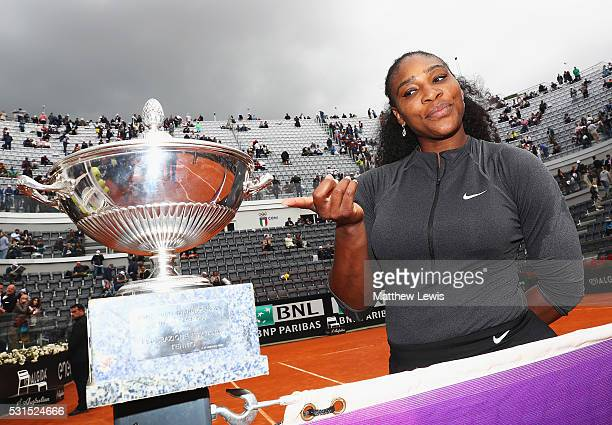 Serena Williams of the United States pictured after winning against Madison Keys of the United States during the Womens Singles Finalduring day eight...