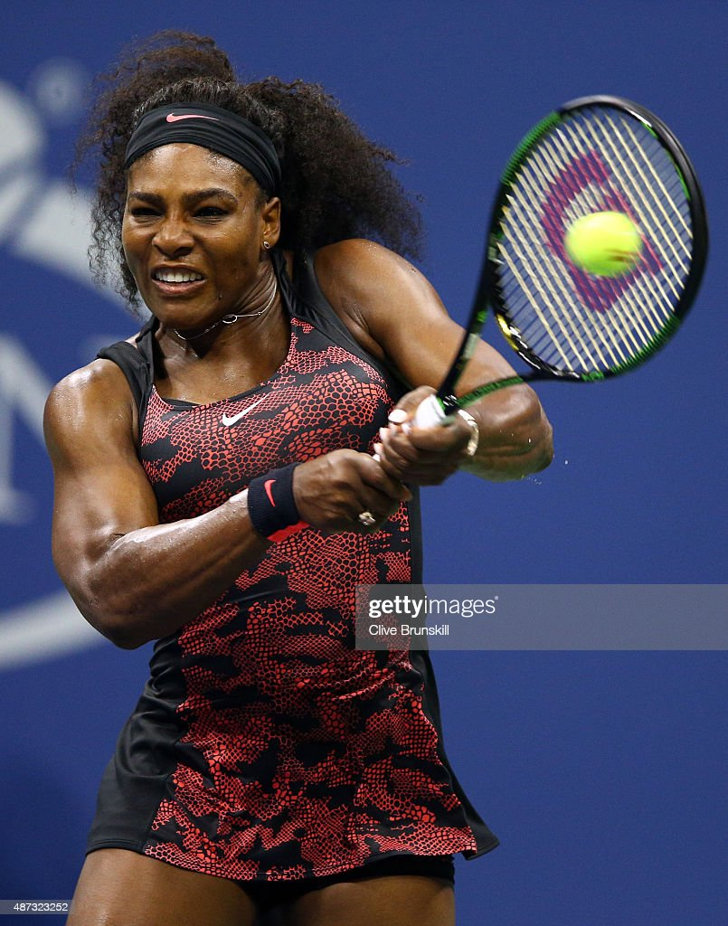 Williams (IA) United States  city pictures gallery : United States returns a shot to Venus Williams of the United States ...