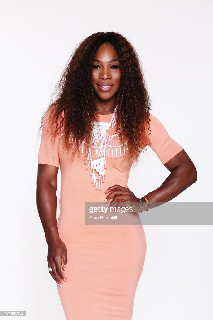 This image has been retouched) Serena Williams poses for an exclusive photoshoot during the WTA 40 Love Celebration on Middle Sunday of the Wimbledon Lawn Tennis Championships at the All England Lawn Tennis and Croquet Club at Wimbledon on June 30, 2013 in London, England.