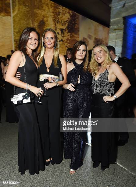 Serena Woodward Olivia Meyer Devon McCarthy and Jamie Givens attend the 2017 Apollo Circle Benefit at The Metropolitan Museum of Art on October 19...
