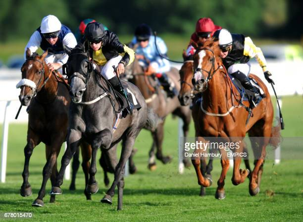 Serene Oasis ridden by Matthew Davies wins the third race The British Armed Forces Day 2012 Fillies' Handicap Stakes at Lingfield Park race course...