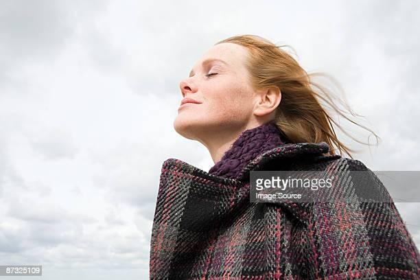 Serene woman