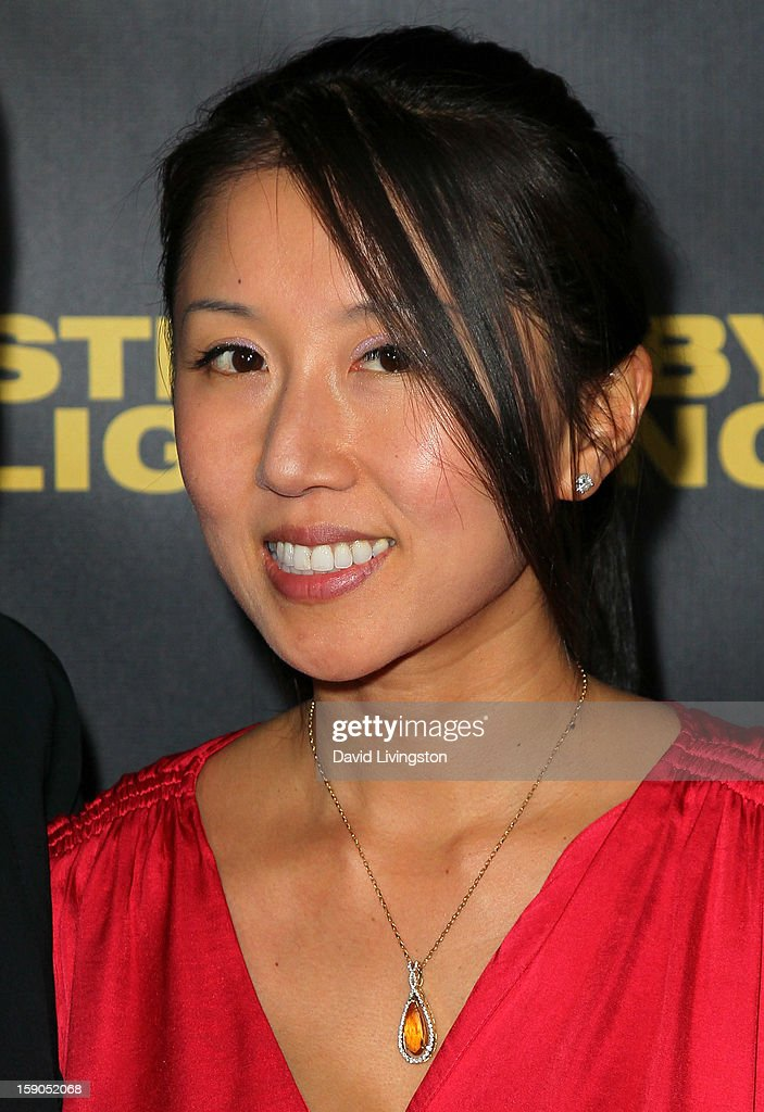 Serenity Media Group president/CEO Christie Hsiao attends a screening of Tribeca Film's 'Struck By Lightning' at Mann Chinese 6 on January 6, 2013 in Los Angeles, California.