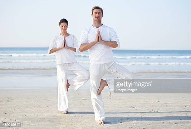 Serenity through yoga