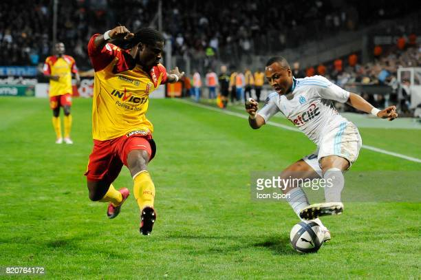 Serge AURIER / Andre Ayew Marseille / Lens 13e journee Ligue 1