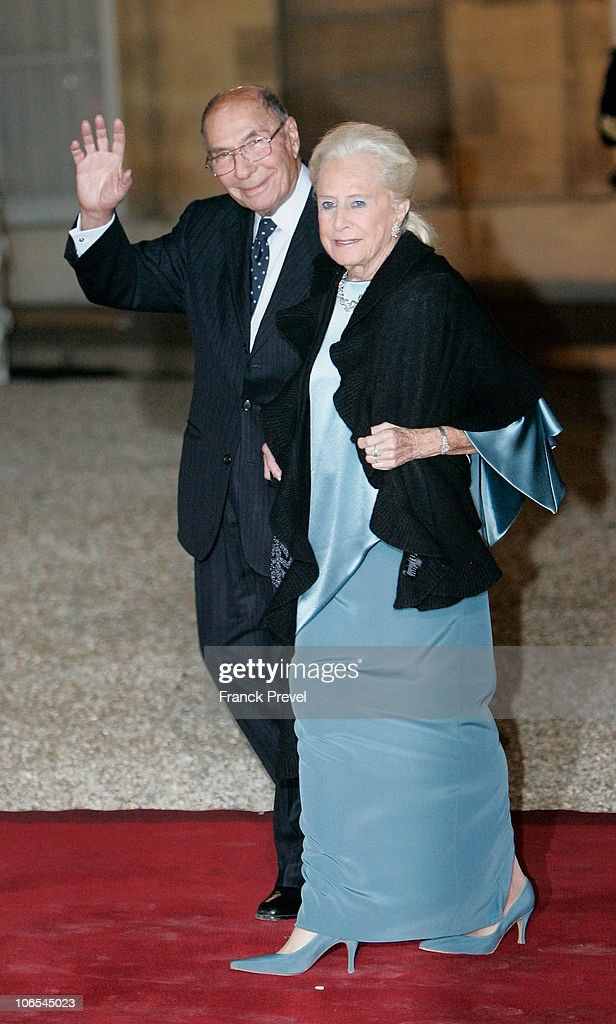 <a gi-track='captionPersonalityLinkClicked' href=/galleries/search?phrase=Serge+Dassault&family=editorial&specificpeople=780308 ng-click='$event.stopPropagation()'>Serge Dassault</a> and his wife arrive to attend a state dinner honouring visiting Chinese President Hu Jintao at Elysee Palace on November 4, 2010 in Paris, France. President Hu Jintao is in France for a three day state-visit during which the two sides are expected to sign deals for nuclear, aviation, and energy technology worth billions of dollars.