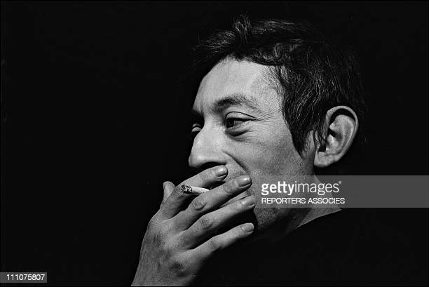 Serge Gainsbourg in France on December 19th 1967