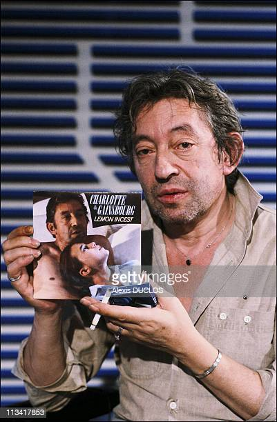 Serge Gainsbourg In Journal Of 'Tf1' On September 19th 1985 In ParisFrance
