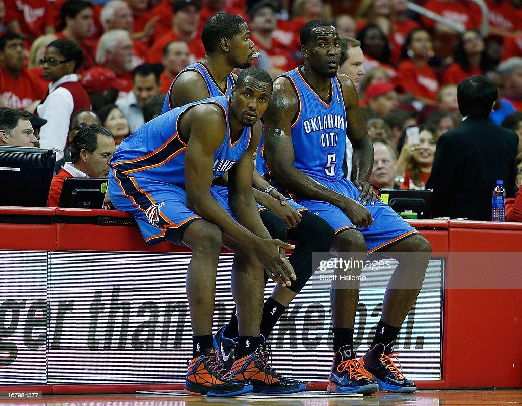 Oklahoma City Thunder v Houston Rockets - Game Six