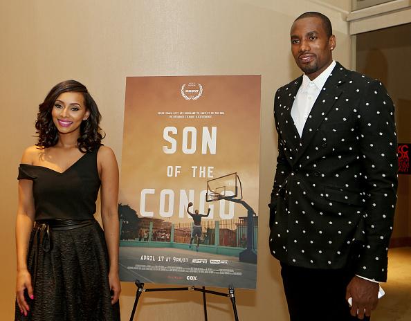 Oklahoma City Thunder at 'Son of Congo' Premiere : News Photo