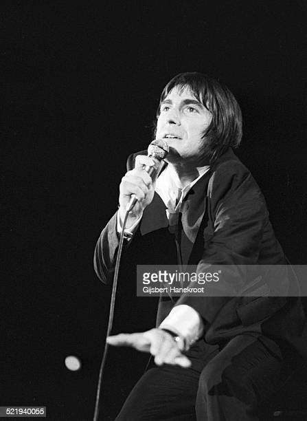 Serge Lama performs on stage in Amsterdam Netherlands in 1972