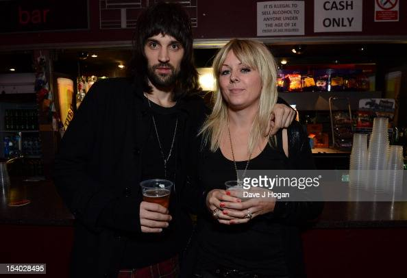 Serge Pizzorno of Kasabian with...