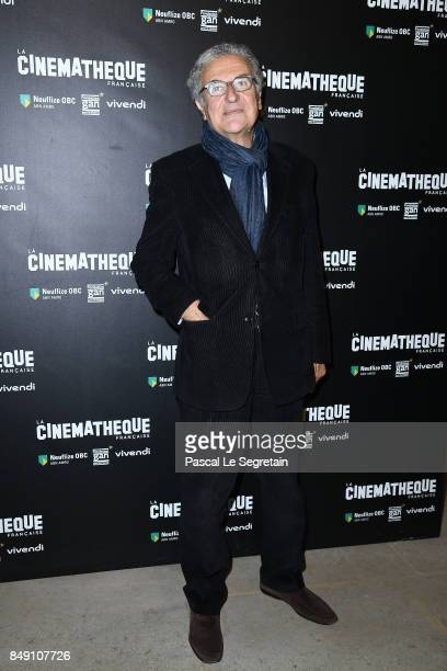 Serge Toubiana attends 'Happy End' Paris Premiere at la cinematheque on September 18 2017 in Paris France