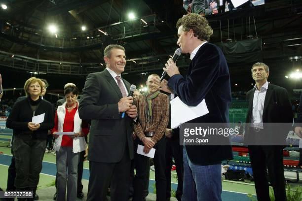 Sergei BUBKA / Denis BROGNIART 60m Meeting de Lievin