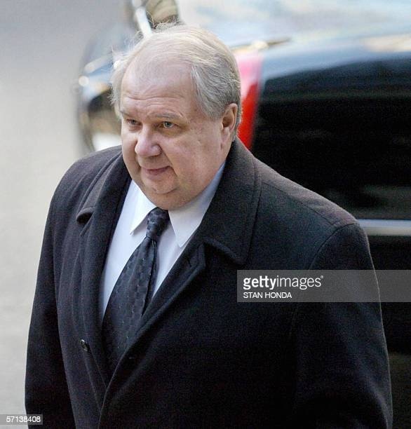 Sergei Kislyak Russia's Deputy Foreign Minister arrives at a meeting of top officials of the five vetowielding members of the United Nations Security...