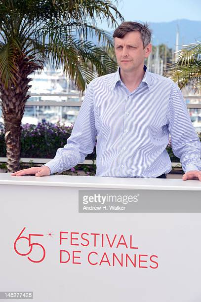 Sergei Loznitsa poses at the 'V Tumane' photocall during 65th Annual Cannes Film Festival at Palais des Festivals on May 25 2012 in Cannes France