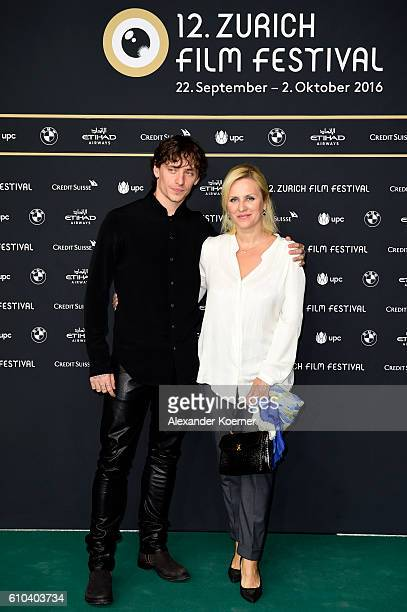 Sergei Polunin and his mother Galina Polunina attend the 'Dancer' Photocall during the 12th Zurich Film Festival on September 25 2016 in Zurich...