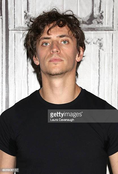 Sergei Polunin attends The BUILD to discuss 'Dancer' at AOL HQ on September 15 2016 in New York City