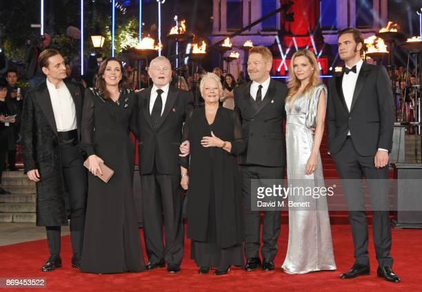 Sergei Polunin Olivia Colman Sir Derek Jacobi Sir Kenneth Branagh Michelle Pfeiffer and Tom Bateman attend the World Premiere of 'Murder On The...