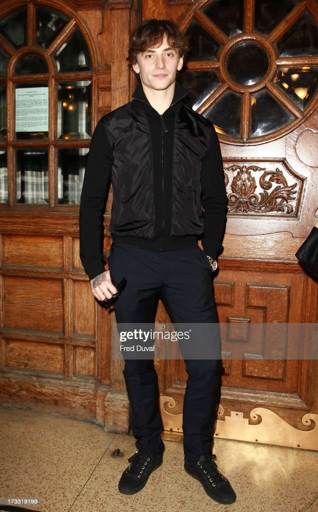 Sergei Polunin sighted outside the London Coliseum on July 12, 2013 in London, England.