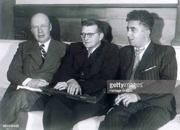 Sergei Prokofiev Dmitri Shostakovich and Aram Khachaturian Russian composers 1945 Prokofiev Shostakovich and Khachaturian were three of the foremost...