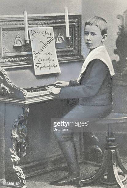 Sergei Prokofiev Russian composer In his early youth when he already composed and became a fine pianist under the tutorship of his mother