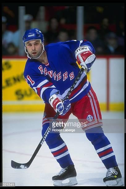 Sergei Zubov of the New York Rangers Mandatory Credit Robert Laberge /Allsport