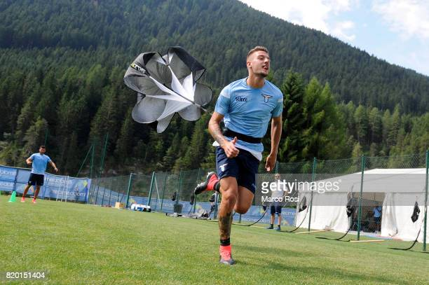 Sergej Milinkovic Savic of SS Lazio during the SS Lazio PreSeason Training Camp on July 21 2017 in Pieve di Cadore Italy