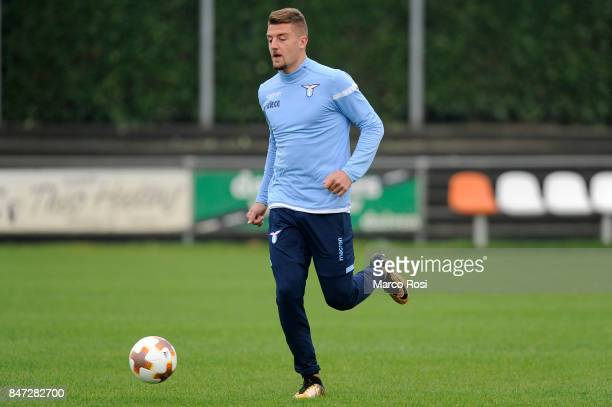 Sergej MIlinkovic Savic of SS Lazio during the SS Lazio Training Session on September 15 2017 in Arnhem Netherlands