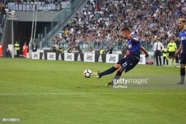 Sergej MILINKOVICSAVIC during the Serie A football match between Juventus FC and SS Lazio at Olympic Allianz Stadium on 14 October 2017 in Turin Italy