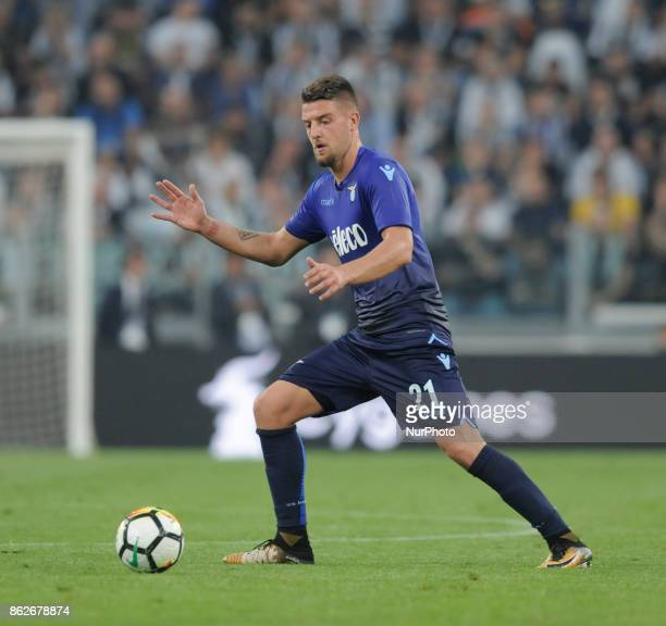 Sergej MilinkovicSavic of Lazio player during the match valid for Italian Football Championships Serie A 20172018 between FC Juventus and SS Lazio at...