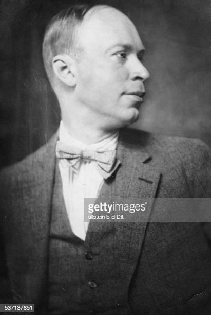 Sergej Prokofieff Musiker Komponist Russland Porträt veröffentlicht 2/1927 Foto Rolf Mahrenholz