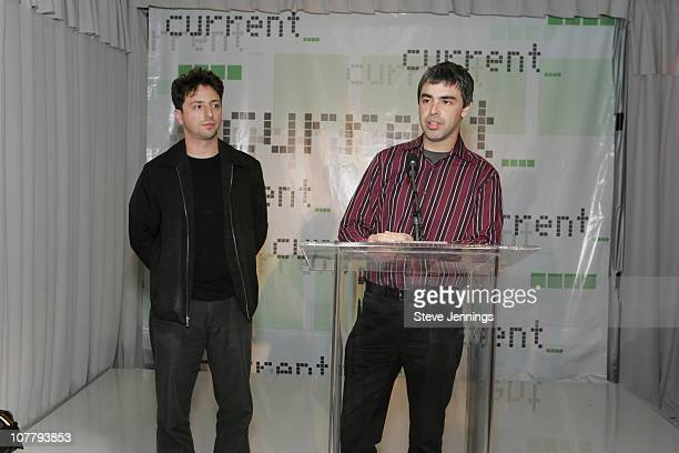 Sergey Brin and Larry Page cofounders of Google