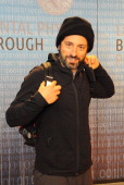 Sergey Brin attends the Breakthrough Prize Inaugural Ceremony at NASA Ames Research Center on December 12 2013 in Mountain View California