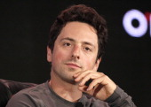 Sergey Brin cofounder of Google Inc listens during the Web 20 Summit in San Francisco California US on Wednesday Oct 19 2011 The conference brings...