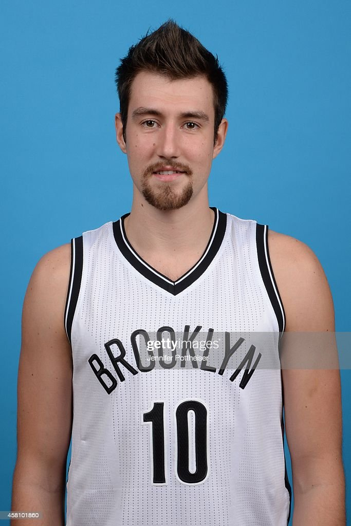 Sergey Karasev of the Brooklyn Nets poses for a portrait during media day on September 26 2014 at the PNY Center in East Rutherford New Jersey NOTE...