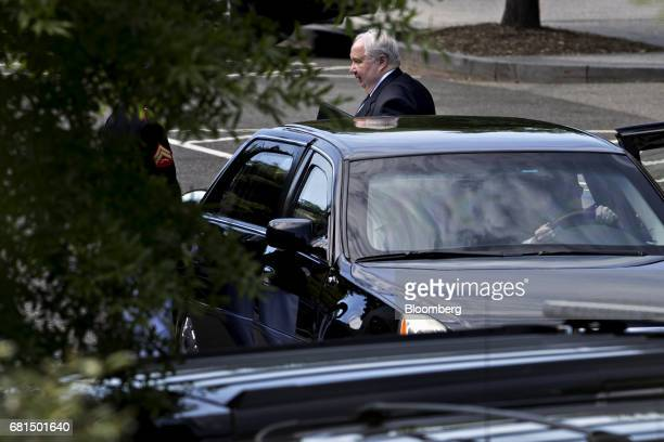 Sergey Kislyak Russia's ambassador to the United States arrives for a meeting with Sergei Lavrov Russia's foreign minister and US President Donald...