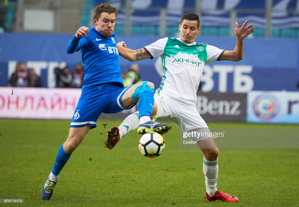 FC Dinamo Moscow vs FC Akhmat Grozny - Russian Premier League