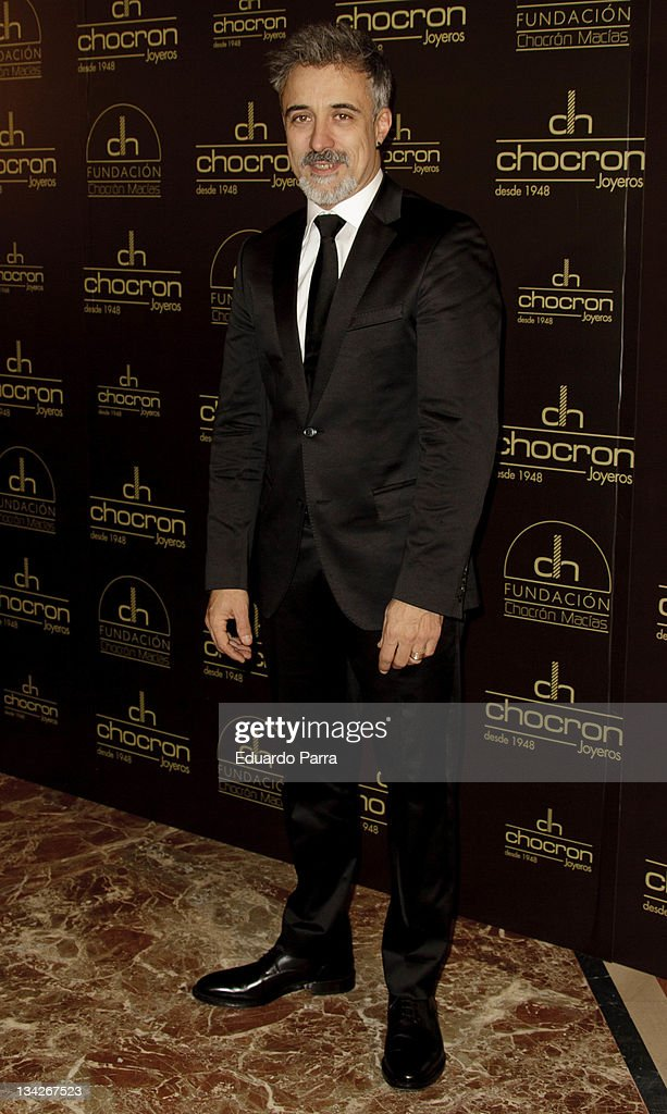 Sergi Arola attendes Chocron jewelry event at La Bolsa on November 29 2011 in Madrid Spain