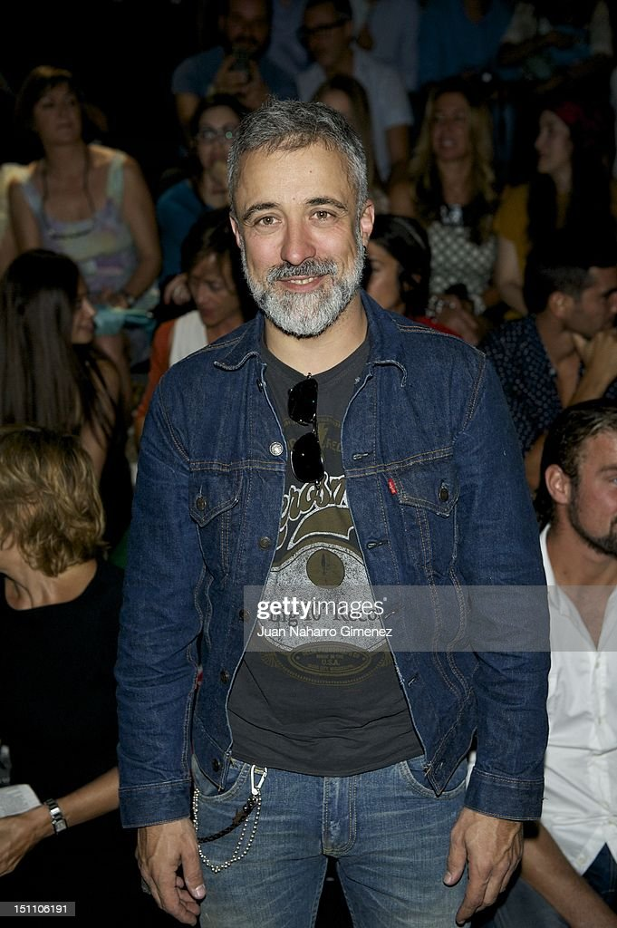 Sergi Arola attends a fashion show during the Mercedes Benz Madrid Fashion Week Spring/Summer 2013 at Ifema on September 1 2012 in Madrid Spain