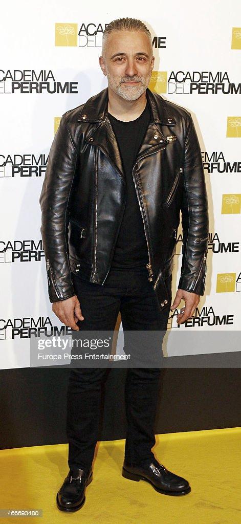 Sergi Arola attends 'Academia del Perfume' 2015 awards at Casa America on March 17 2015 in Madrid Spain