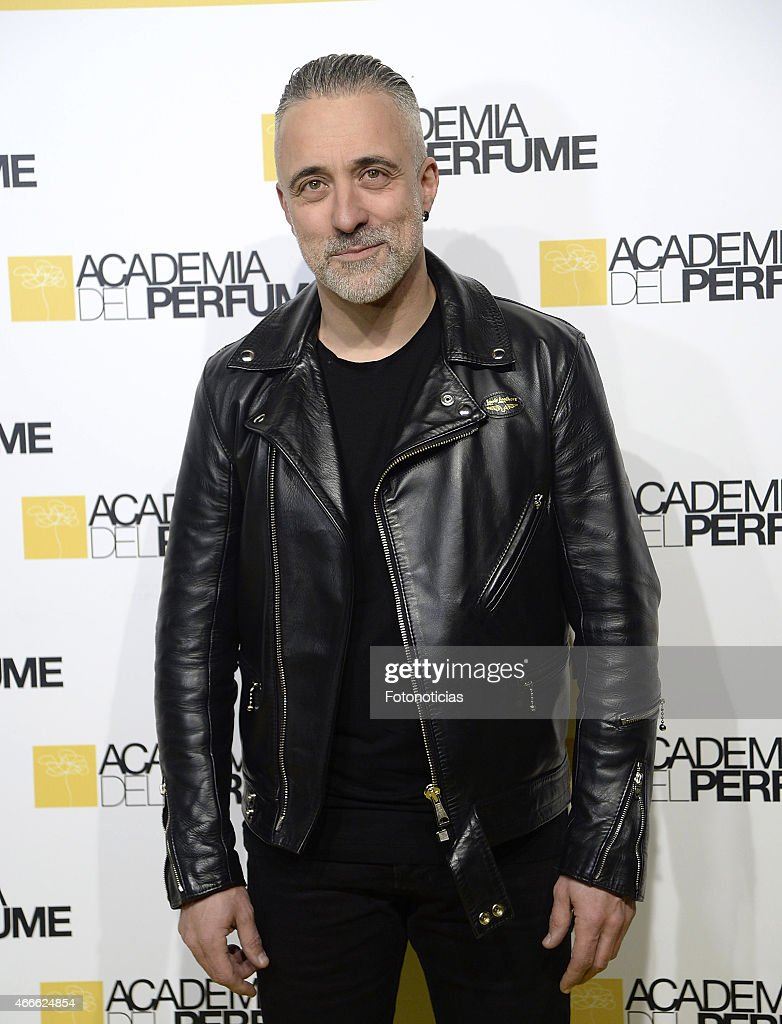 Sergi Arola attends the 'Academia del Perfume' 2015 Awards at Casa de America on March 17 2015 in Madrid Spain