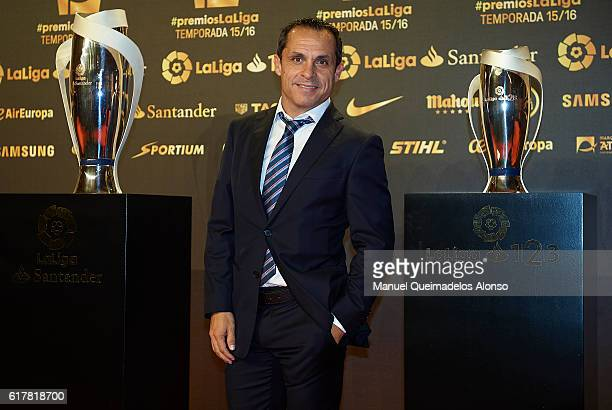 Sergi Barjuan attends the LFP Soccer Awards Gala 2016 at Palacio de Congresos on October 24 2016 in Valencia Spain
