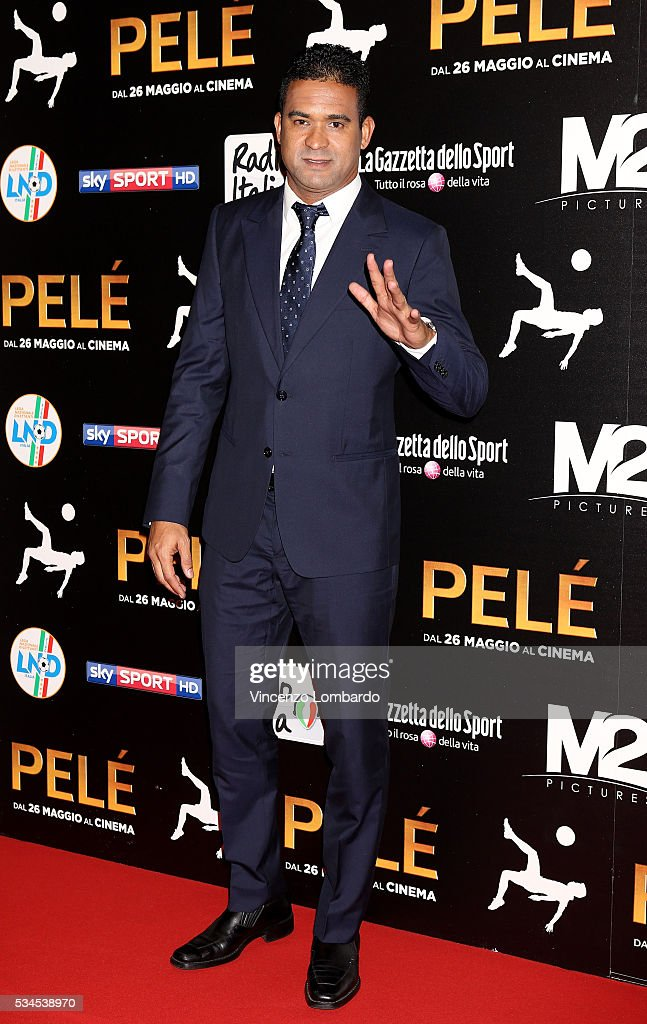 Serginho attends the 'Pele' Red Carpet on May 26, 2016 in Milan, Italy.