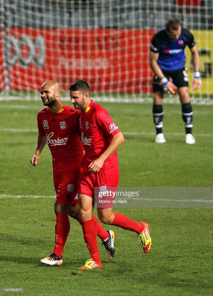 A-League Rd 25 - Adelaide v Heart