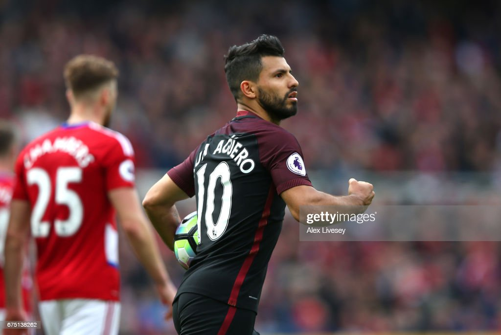 Middlesbrough v Manchester City - Premier League : News Photo
