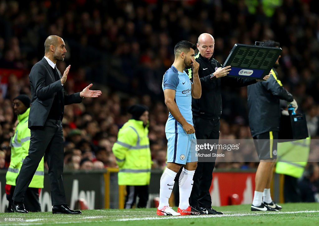 Manchester United v Manchester City - EFL Cup Fourth Round : News Photo