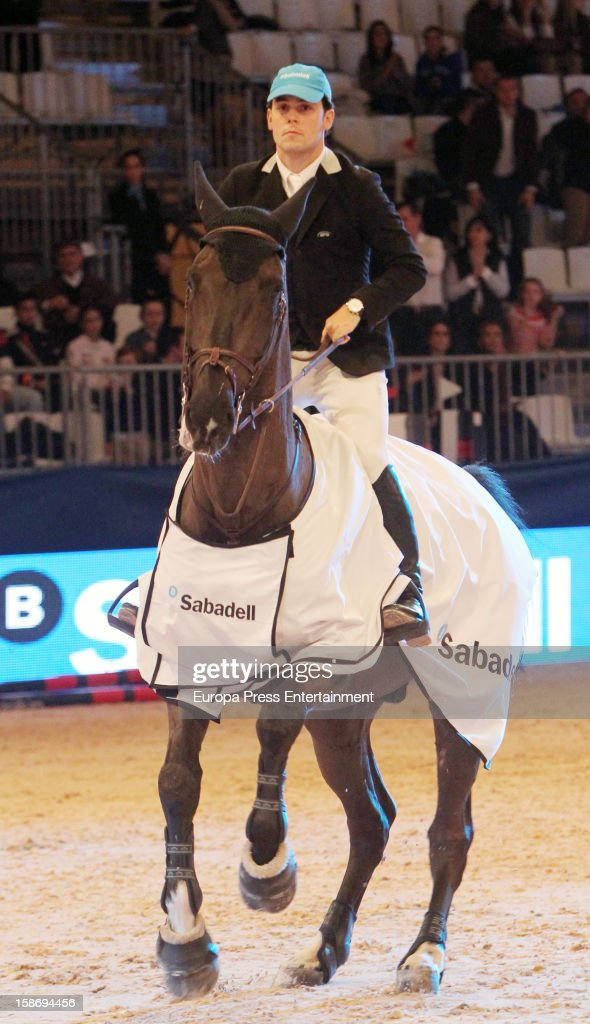 Sergio Alvarez attends Madrid Horse Week Fair 2012 at Ifema on December 23, 2012 in Madrid, Spain.