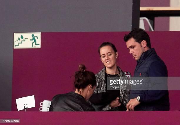 Sergio Alvarez Moya and Nina Ulenberg attend the Madrid Horse Week 2017 at IFEMA on November 24 2017 in Madrid Spain