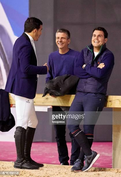 Sergio Alvarez Moya attends the Madrid Horse Week 2017 at IFEMA on November 23 2017 in Madrid Spain